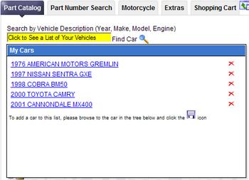 Car List