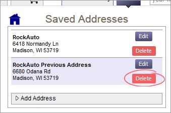 Remove Address