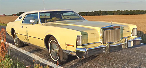 Fraenkis 1973 Lincoln Continental Mark IV