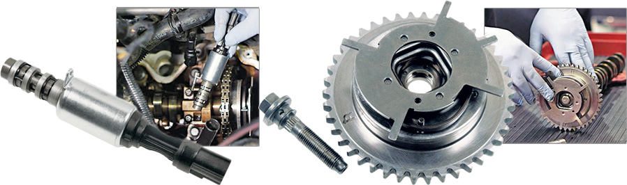 Standard Motor Products VVT Solenoid and Sprocket