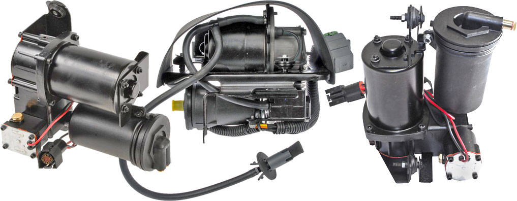 Cardone, Dorman & Arnott Air Suspension Pumps