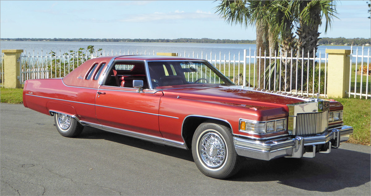 George's 1976 Cadillac Coupe DeVille