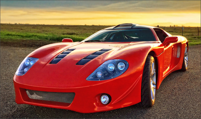 Conrad's Factory Five GTM