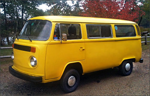 Le VW Transporter de 1979 de Scott
