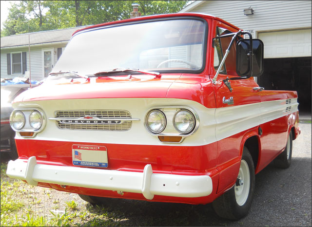Bobs 1963 Corvair Rampside Pickup Truck