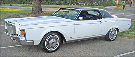 El 1971 Continental de Brandon