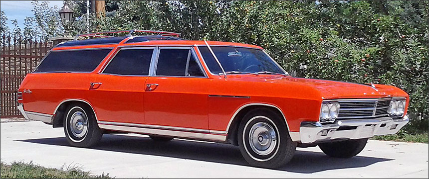 Anthonys 1966 Buick Sportwagon
