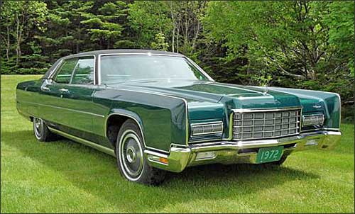 Sean's 1972 Lincoln Continental