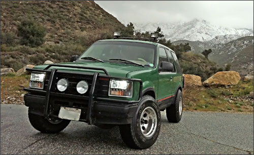 Le Ford Explorer Sport de 1993 de Nick