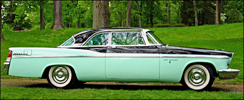 El Chrysler New Yorker Newport modelo 1956 de Jerry