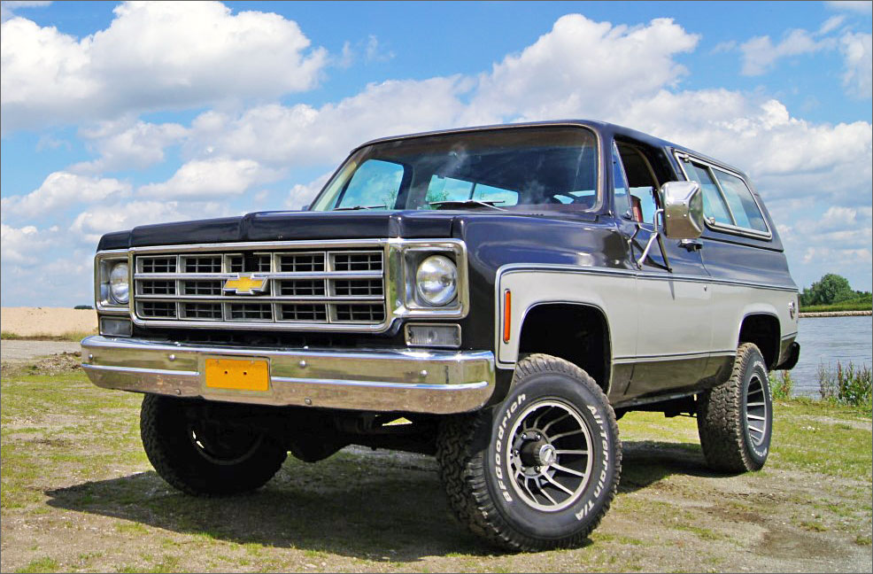 Tom's 1973 Chevrolet Blazer