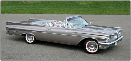 Joe's 1959 Pontiac Bonneville Convertible
