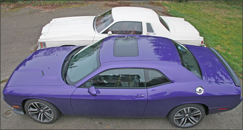 Benchmark car and the Dodge Challenger