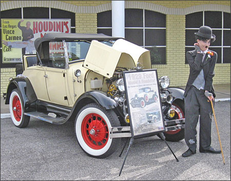 Reggie's 1929 Ford Model A Roadster