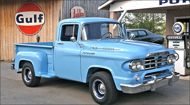 El Dodge Pickup Año 1959 de Bill