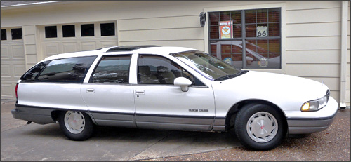 Greg's 1992 Oldsmobile Custom Cruiser