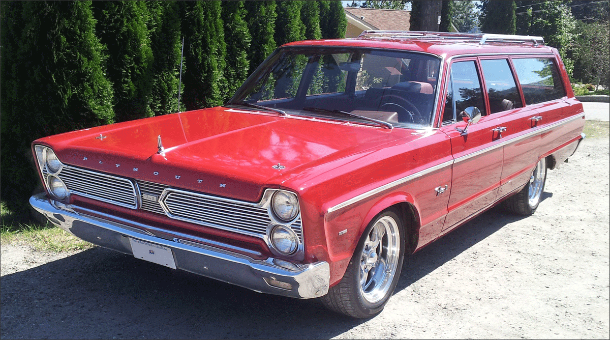 Steve's 1966 Plymouth Fury 2 Wagon