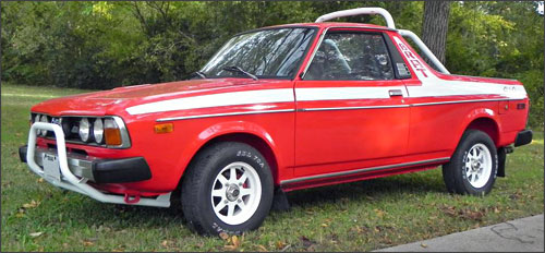 Steve's Subaru BRAT built with RockAuto parts