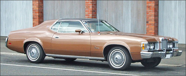 Peter's 1973 Mercury Cougar XR7