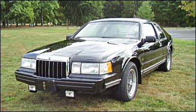 Car on 1992 Lincoln Mark Vii Lsc Engine