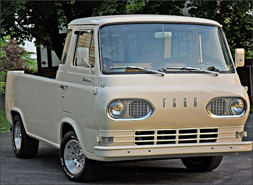 Tom's 1961 Ford Econoline Pickup