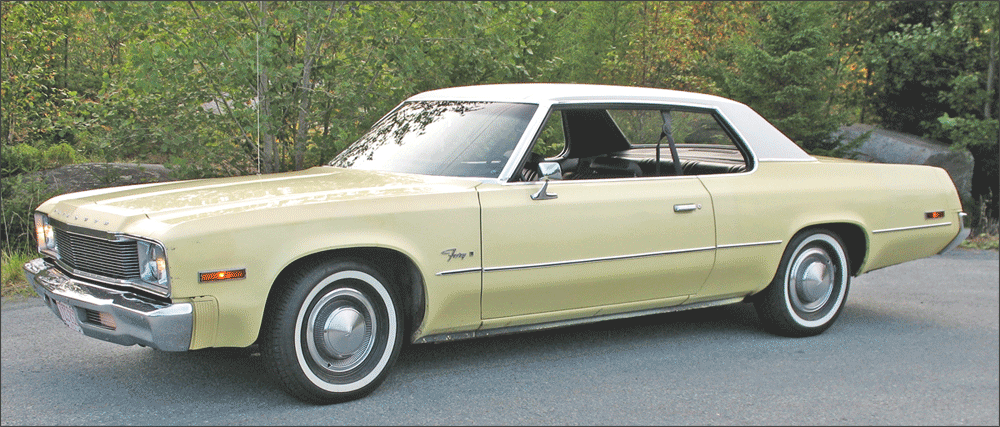 Darren's 1974 Plymouth Fury