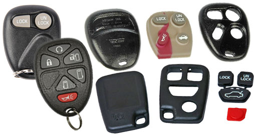 ACDelco, SMP, Dorman and Uro Parts Keyless Entry Remotes