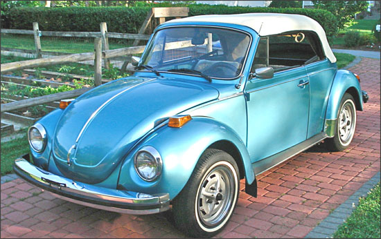Vladimir's 1979 VW Super Beetle Convertible