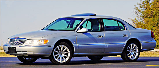 Keenans 2001 Lincoln Continental