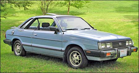 Connie's 1983 Subaru GL-10