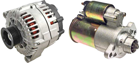 WPS/Power Select Alternator and Starter