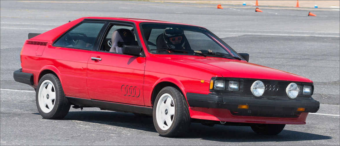 Christopher's 1984 Audi Coupe GT