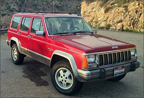 Chris' 1992 Jeep Cherokee