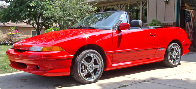 Ron's 1991 Mercury Capri XR2