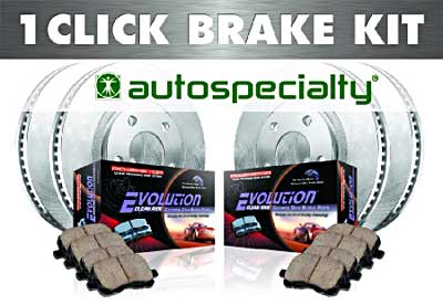 Power Stop OE replacement brake kits
