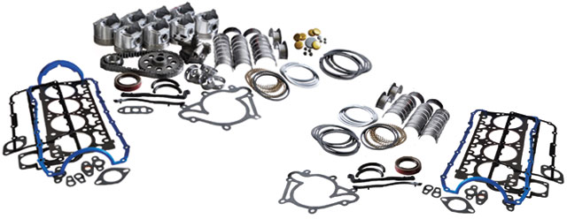 Typical Enginetech Master Rebuild and Re-Ring Kits