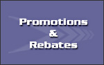 Current Promotions and Rebates
