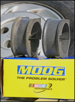Moog rack and pinion bushings