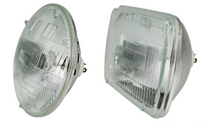 Wagner H6024 (round) and H6054 (rectangular) headlamp bulbs