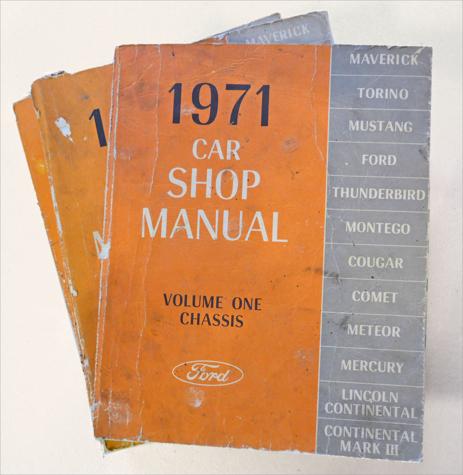 1971 Ford Owners Manual