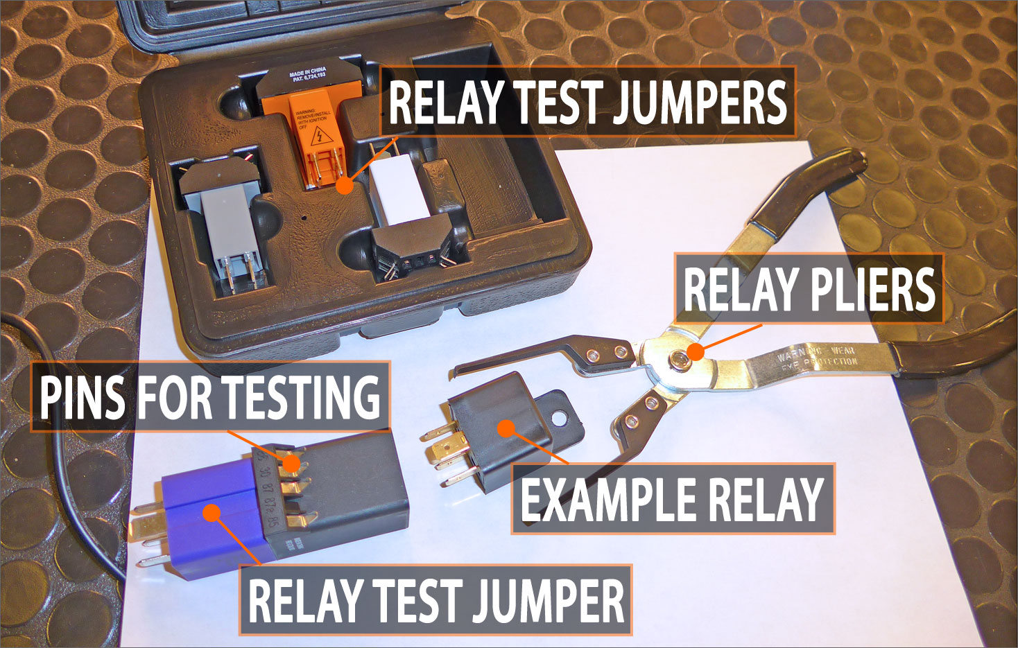 Rockauto October Newsletter Relay Circuit Tester The Repair Manual Available Under Literature In Catalog May Tell You To Test A And Its Circuits By Putting Multimeter Probes Found