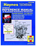 Haynes Automotive Reference Manual & Dictionary