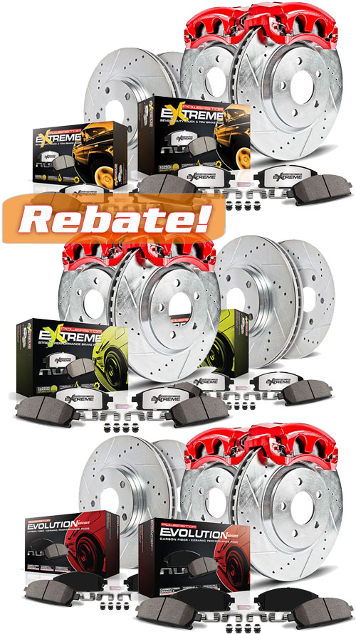 Power Stop Rebate
