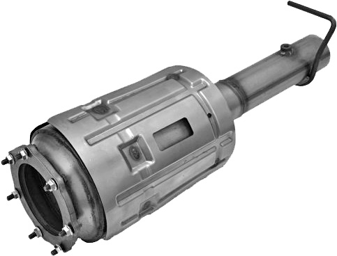 Typical Diesel Particulate Filter (DPF)