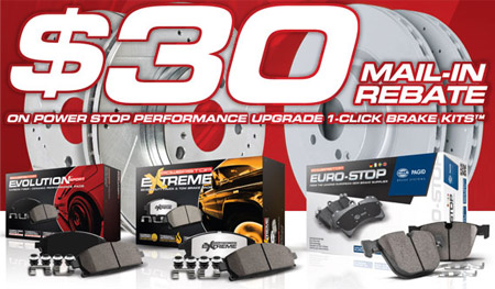 Power Stop Brake Kit Rebate